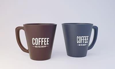 Coffee Mug Mockup PSD Free Download