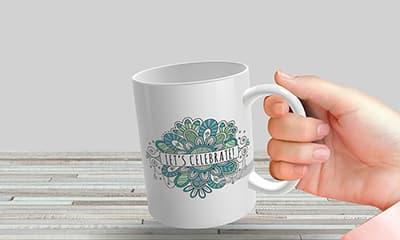 8 Free Full Wrap Mug Mockup Template PSD