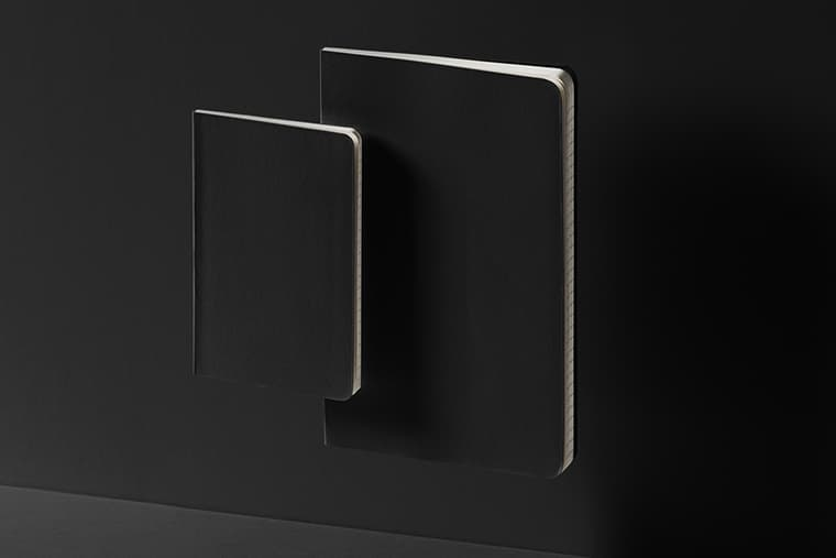 Free Gravity Notebook Cover  Set Mockup