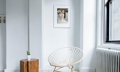 Free Interior Frame Mockup PSD